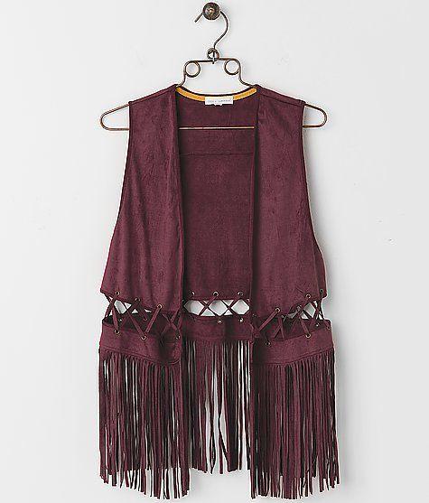 coco & jameson Fringe Vest