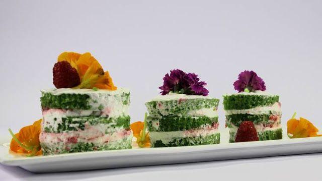 La mia cucina etica: Mini naked spinach cake