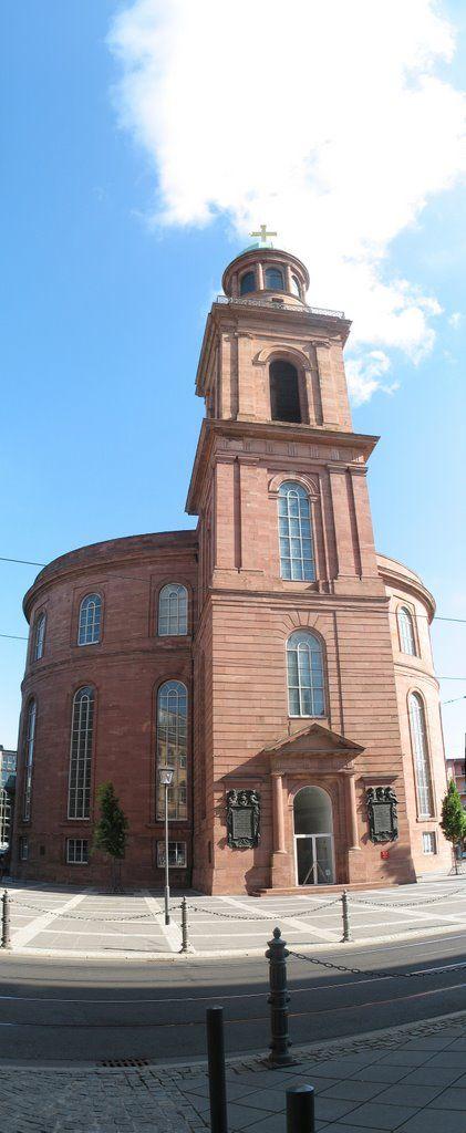 Paulskirche//Église à Francfort-sur-le-Main, Allemagne