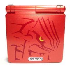 Groudon Pokemon Game Boy Advance SP