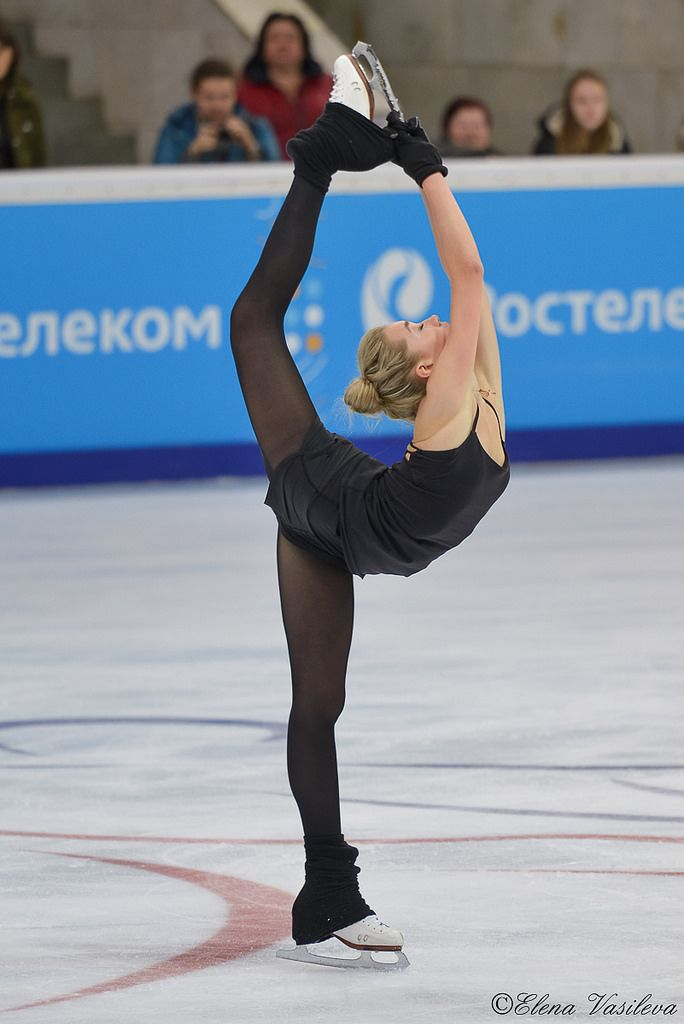 Elena Radionova (RUS) | by Elena Vasileva / Елена Васильева figure skating training