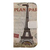 Eiffel-torni Drawing Pattern keinonahka Kova ... – EUR € 7.35