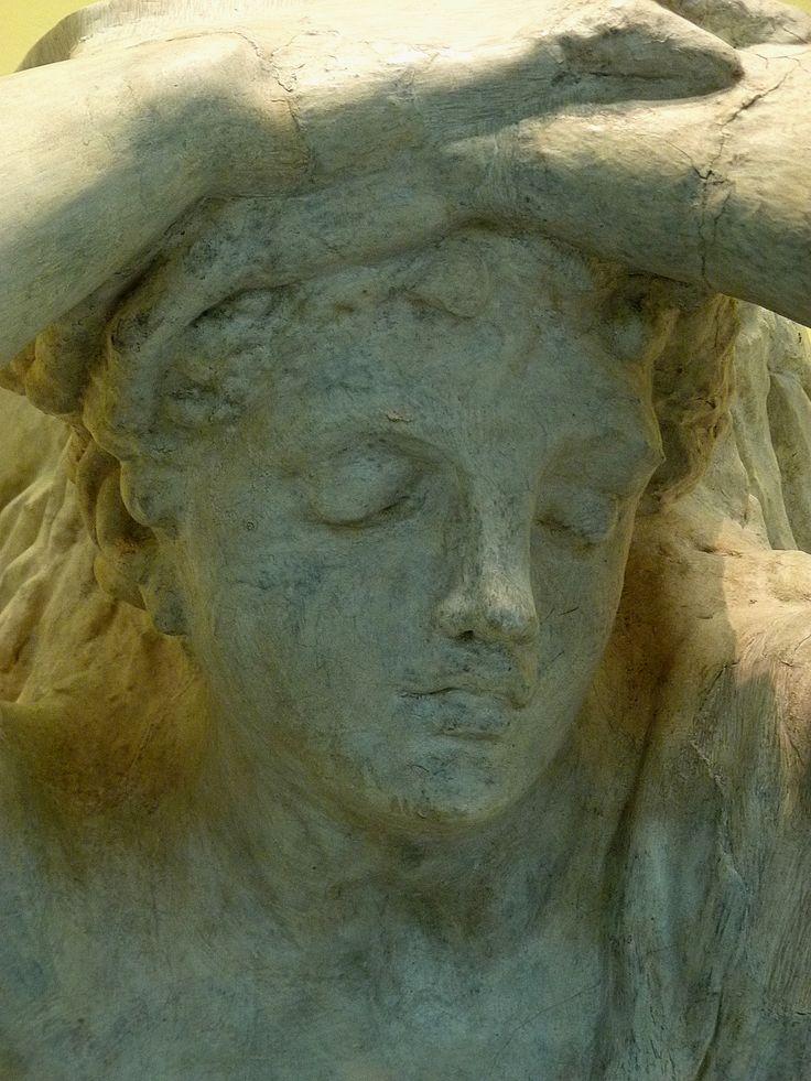 """RODIN Auguste,1874 - Atlante du Boulevard Anspach, Stuc (Musée Rodin) - Detail 04  -  TAGS / art sculptor sculpteur details détail détails detalles sculpture sculptures """"sculpture 19e"""" """"19th-century sculptures"""" """"Rodin Museum"""" statue tête head face faces visage France """"French sculpture"""" """"French sculptors"""" """"naked woman"""" """"naked women"""" """"femme nue"""" """"nu feminin"""" """"nude female"""" bare naked nue sensuelle sensual erotism érotisme ParisAtalante """"jeune femme"""" """"young woman"""" """"young women"""" Cariatide…"""