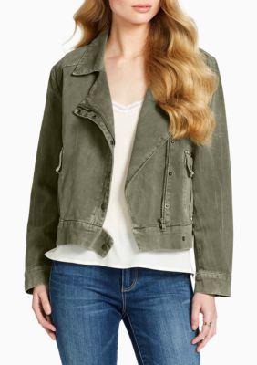 Jessica Simpson Women's Keia Military Jacket