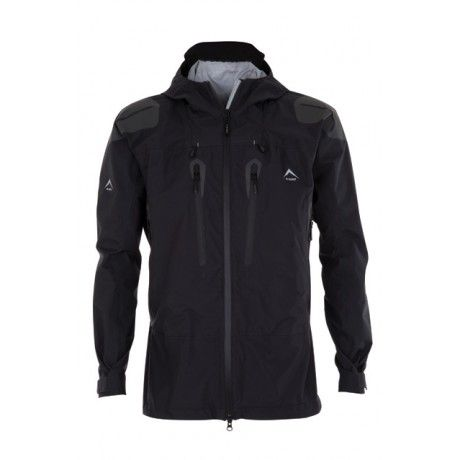 K-WAY MEN'S MERAK TRI-LAM SHELL JACKET:  K-Way's Merak is a waterproof, windproof and vapour permeable Trilam shell jacket. Fully seam-sealed, the jacket is made from a three-layer fabric consisting of a high-performance membrane bonded to a tough outer material and a robust inner mesh. An adjustable hem and cuffs and integrated hood offer added protection against the cold.