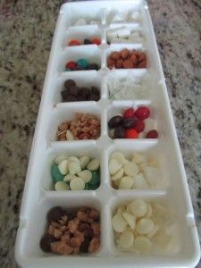 Willy Wonka Chocolates - let the kids create their own chocolate candies. So fun!