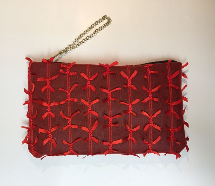 VIDA Statement Clutch - Luminescent Floral Red by VIDA gnoil