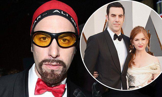 Sacha Baron Cohen snuck his Ali G costume into Oscars