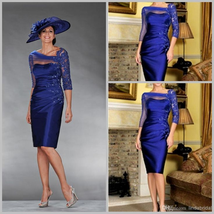 Cheap Plus Size Mother Of The Bride Dresses Royal Blue ...