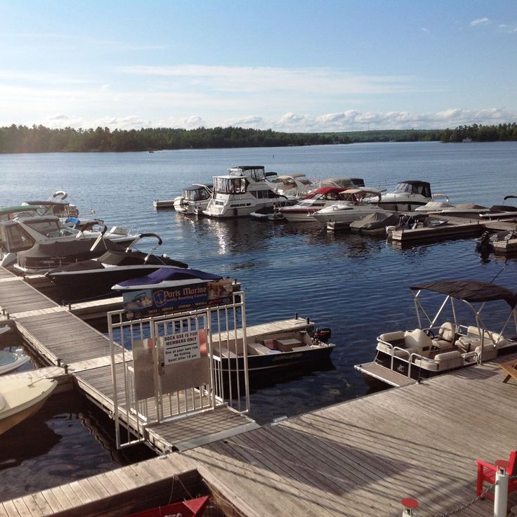 Ontario - Peterborough and the Kawarthas - Lantern Restaurant & Grill - McCracken's Landing on Stoney Lake where boats dock to reach restaurant 3