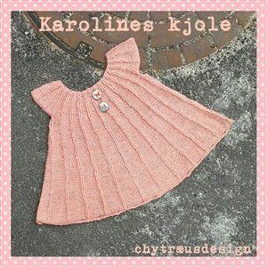 Nørkleriets Webshop - OPSKRIFT Karolines kjole 25,00 DKK