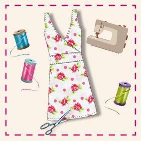 Infos pratiques sur la couture, tableau pour savoir quelle metrage de tissu en fonction du vetement et de la taille, simple et pratique