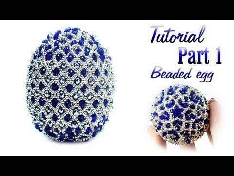 Tutorial: Beaded Faberge egg / Пасхальное яйцо из бисера (Фаберже)