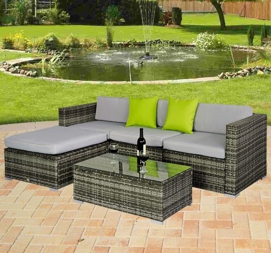 Rattan Outdoor Furniture Photo Grey Rattan Garden Furniture Images Rattan  Outdoor Furniture. Rattan Gartenmöbel SetsOutdoor KorbmöbelModerne ...