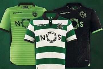 Sporting Clube de Portugal 2016/17 Macron Kits