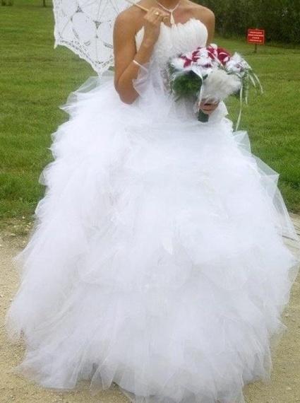Exceptionnel Les 25 meilleures idées de la catégorie Robe de mariée hervé  LN36