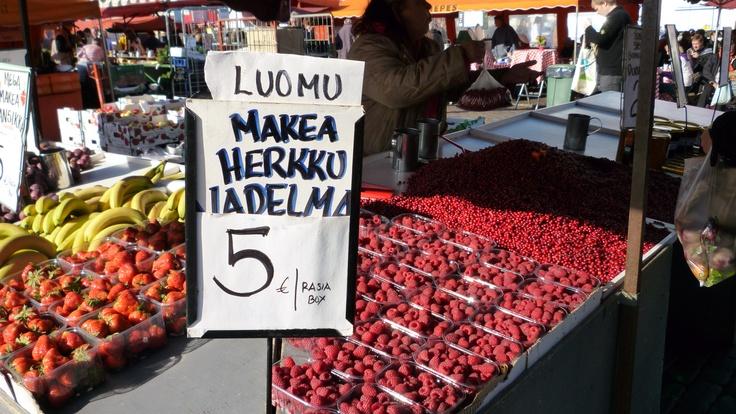 Produce Market, Helsinki, Finland