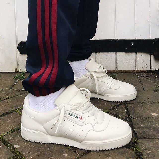 """Family and friends are starting to receive pairs of the """"Calabasas"""" @adidas x @kanyewest Powerphase. The shoe is rumored to release soon for $120 USD.  Photo: @gullyguyleo"""