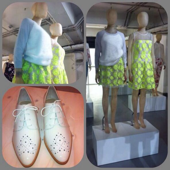 Pops of neon, luxurious cashmeres, funky brogues... the new Power Pretty pieces to expect from Karen Millen for SS14 #karenmillen #ss14
