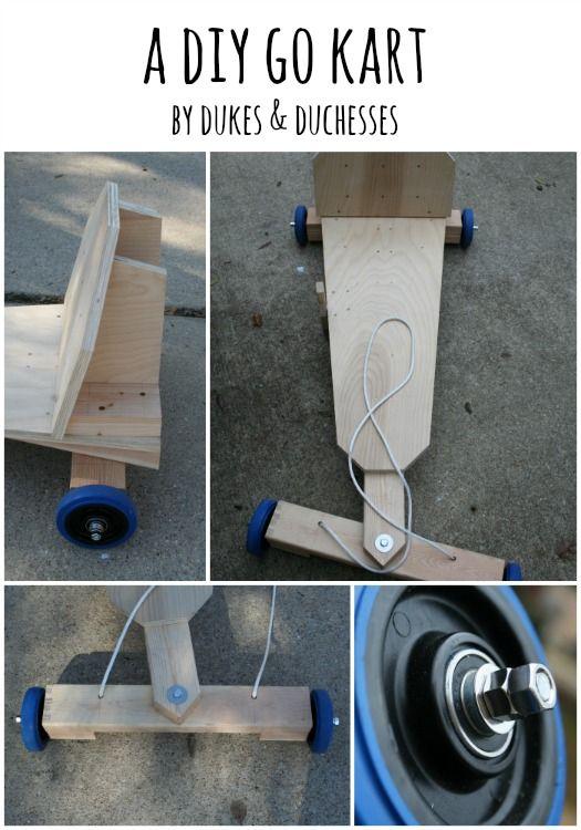 a DIY go kart