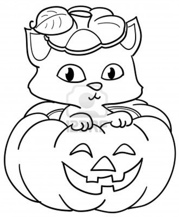 curious george halloween coloring pages - photo#31