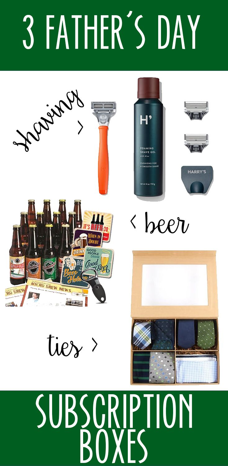 3 Subscription Boxes perfect for Father's Day | Hello Kinsley