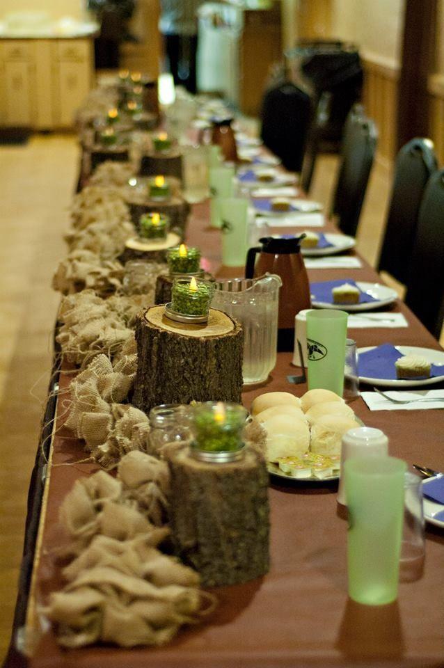 Duck Dynasty Wedding Head Table
