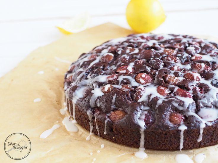 Ein Rezept für veganen Schokoladenkirschkuchen – Die ersten Kirschen sind da! D …