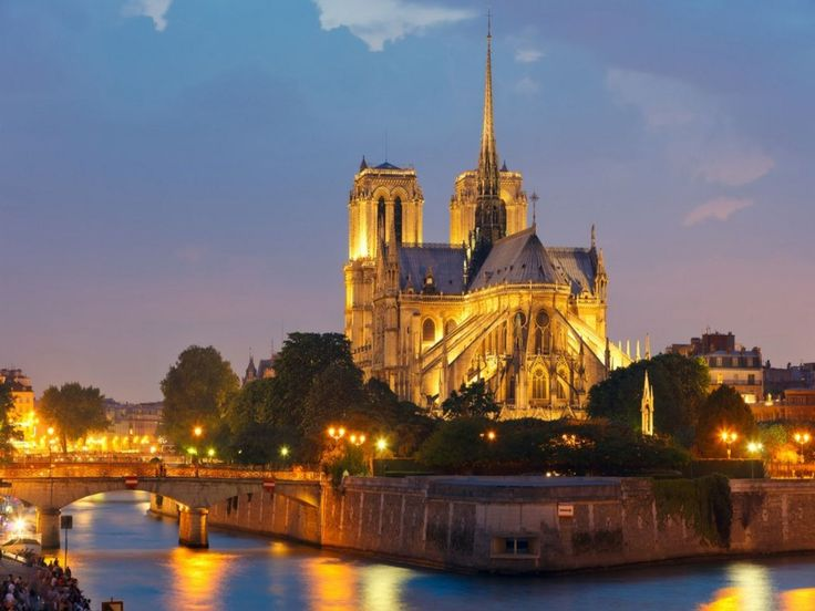 Built in 1345 Notre Dame de Paris remains one of the world's most famous cathedrals. Description from m.kisssudbury.com. I searched for this on bing.com/images