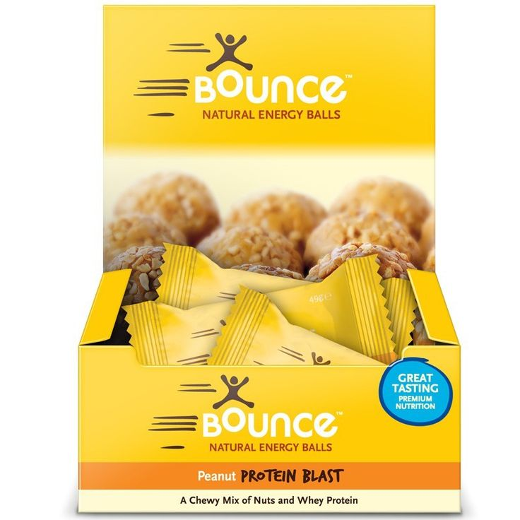 Buy Bounce Natural Energy Balls Peanut Protein Blast 12 Balls X 49g Each at Megavitamins Supplement Store Australia.Peanut Protein Blast with low GI peanuts & contain 15g of whey protein per Ball. Peanut Protein Blast provides high quality protein.