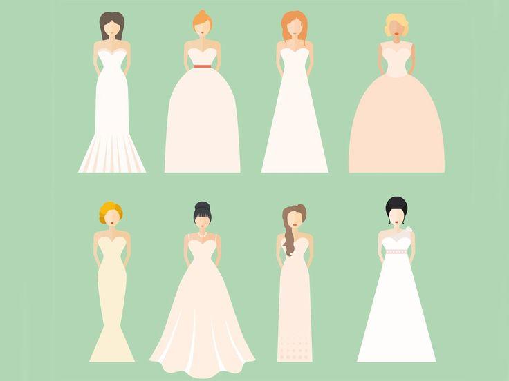 Ein kleiner Test: Welches Brautkleid passt zu mir?