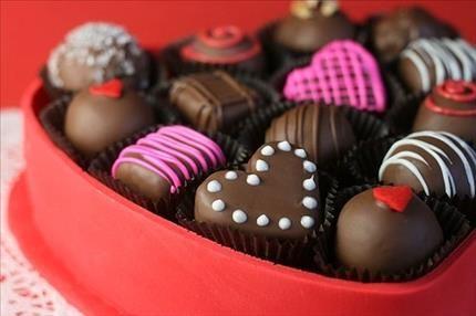 kalpli çikolata