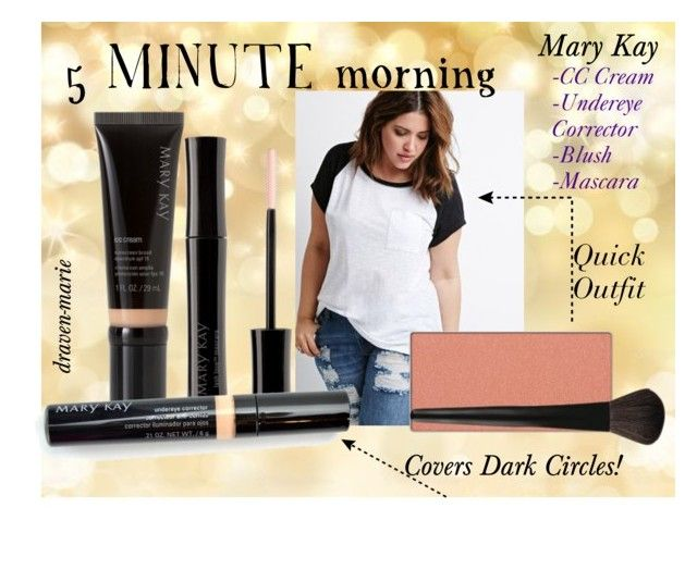 marykay.com/dravenxxmarie order now! ships straight to you! 5 MINUTE morning by draven-marie on Polyvore featuring polyvore beauty Mary Kay INIKA