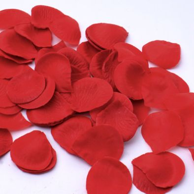 Silk Rose Flower Pedals Romantic Decor Red 100pack -- Only $6.99 ** Free Shipping -- www.GadgetPlus.ca