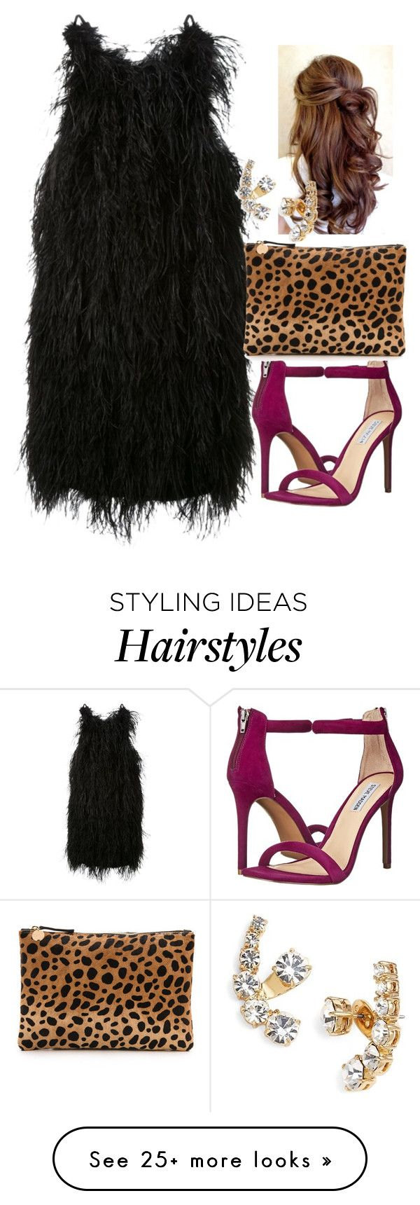 """""""hair"""" by aldenbarbour12 on Polyvore featuring Scanlan Theodore, Steve Madden, Clare V. and Kate Spade"""