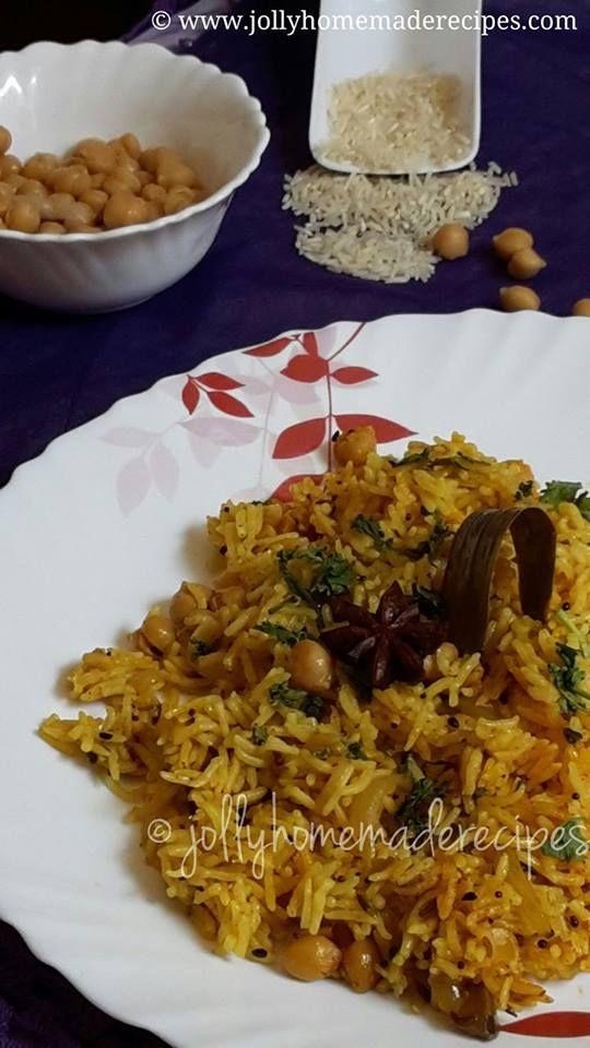 Achari Chana Pulao Recipe aka Pickled Chickpeas Rice Recipe