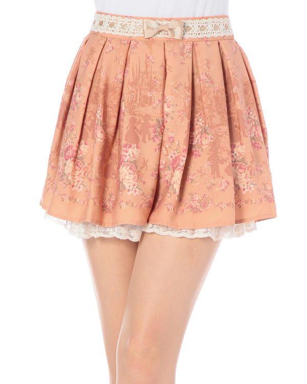 Fairy tale pleated pants