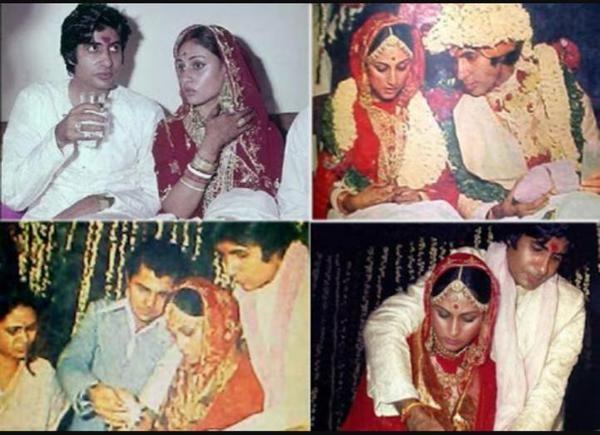Happy #marriage anniversary to #AmitabhBachchan and his wife Jaya Bachchan on their 42nd #wedding.