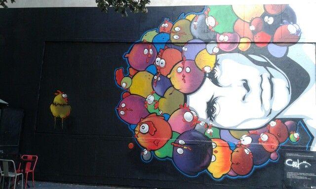 Street art in Paris - Le Mur