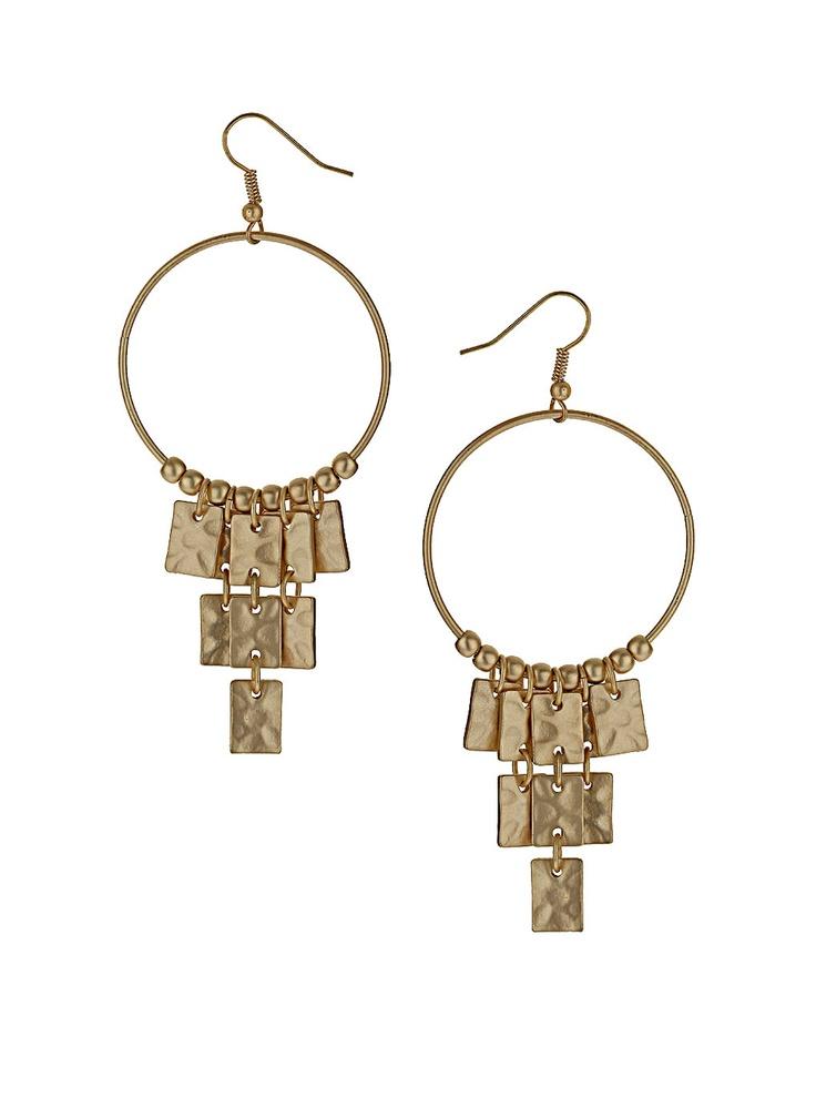<3<3: Ears Gems, Jewelry Fetish, Beaten Matte, Metals Magic, Metals Earrings, Matte Gold, Addiction, Basic Metals, Gold Earrings