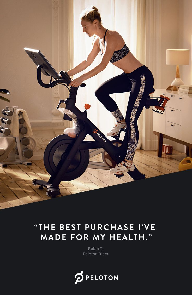 The Peloton bike is your own private cycling studio. Join ...