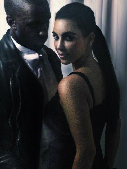 Kanye West Takes Kim Kardashian To Visit His Mother's Grave