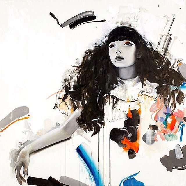 WEBSTA @ kildren - Repost. Missing Nujabes.'Aruarian Dance'130 x 130 Oil on Canvas. Oldie. 매일 듣는 곡을, 새벽 라디오에서 우연히 듣고 또 하루종일 귓가를 맴돈다.-#kildren #painting #acrylicpainting #oilpainting #canvas #spraypaint #fineart #킬드런 #mtn #mtncolors #Nujabes #누자베스 #aruariandance