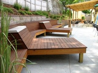 Modern Wood Patio Furniture 65 best bench ideas images on pinterest | woodwork, work benches