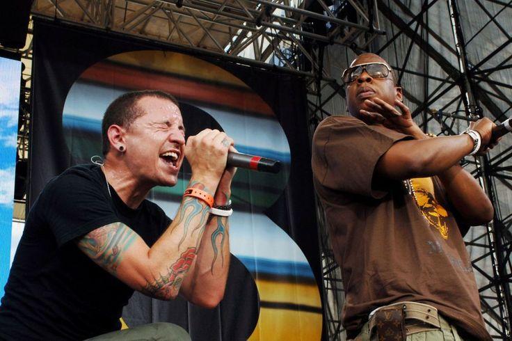 JAY-Z faz homenagem para vocalista do Linkin Park em show