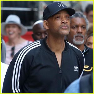 Will Smith Visits Holy Site in Jerusalem During Break From 'Aladdin' Filming (Video)