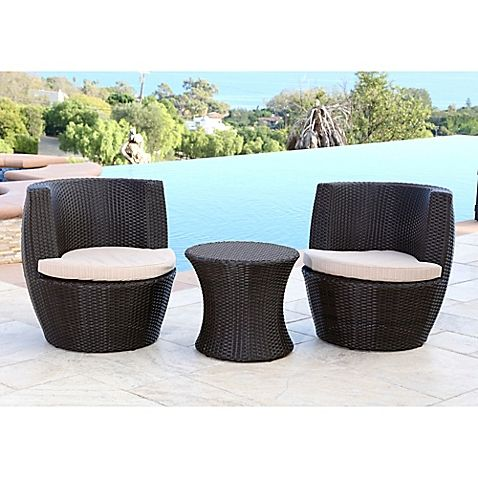 Complement Your Deck, Patio, Or Porch With The Sleek Abbyson Living  Carlsbad Outdoor Wicker