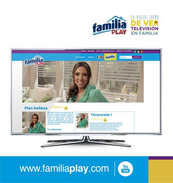 Elige la serie o película que te guste, ingresando desde tu computador, smartphone, tableta o smart TV a www.familiaplay.com ¡Es gratis!
