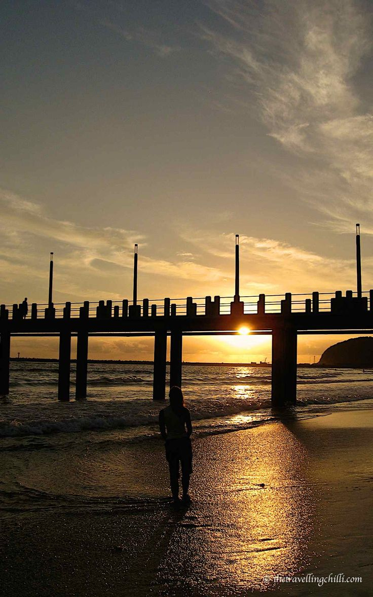 Durban pier in South Africa - Reasons to visit Durban