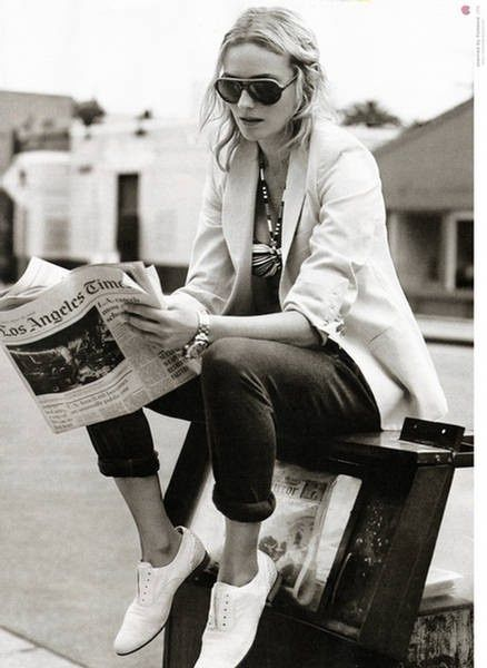 Diane Kruger, great style.
